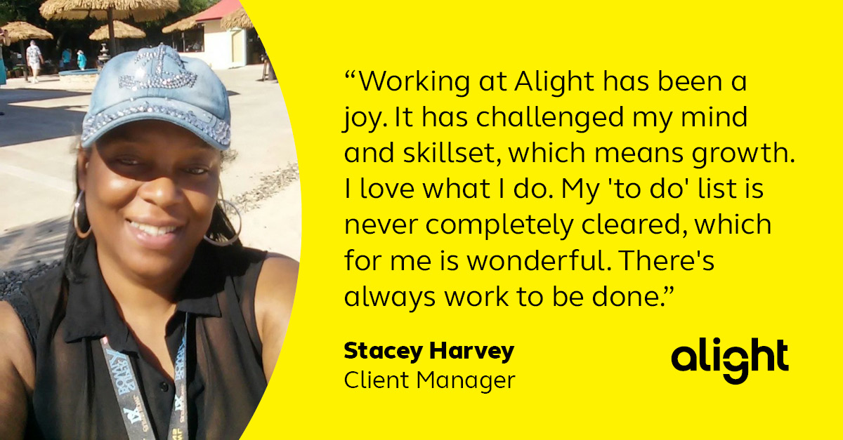 Colleague testimonial - Stacey Harvey