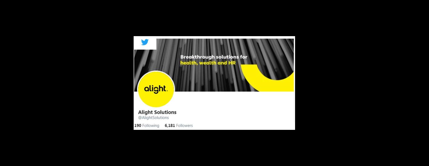 Alight Solutions on Twitter