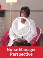 Video of Registered Nurse Crystal Lee explaining her perspective on being a Nurse Manager