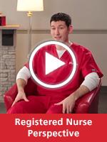 Video of Registered Nurse Bob Bulafka explaining his perspective on being a nurse