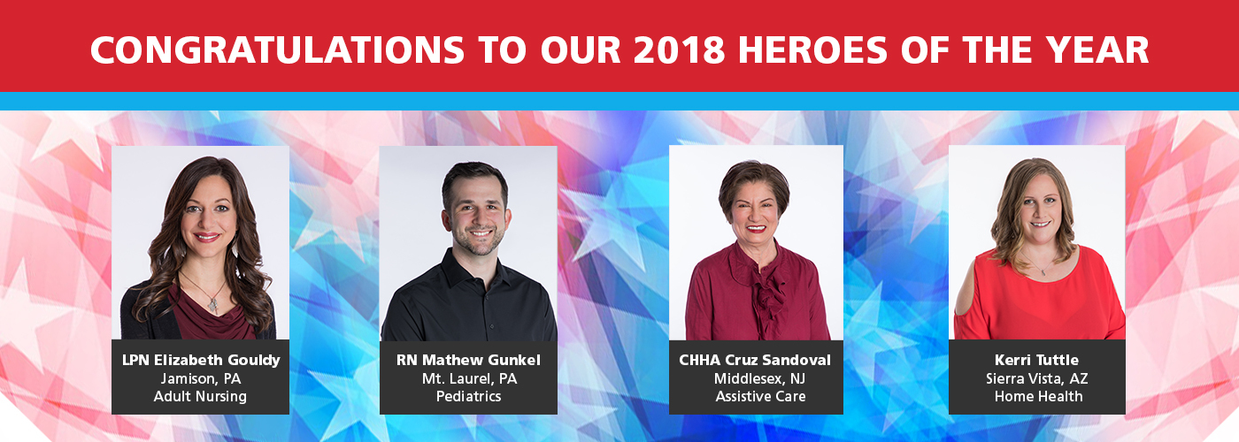 Our 2018 Heroes on the Home Front