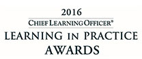 Chief Learning Officer - Learning in Practice Award 2016