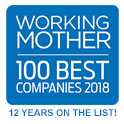 Working Mother 100 Best Companies 2018