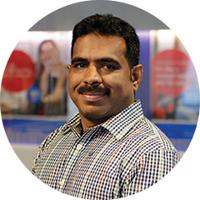 Employee Kajan Balasundaram.