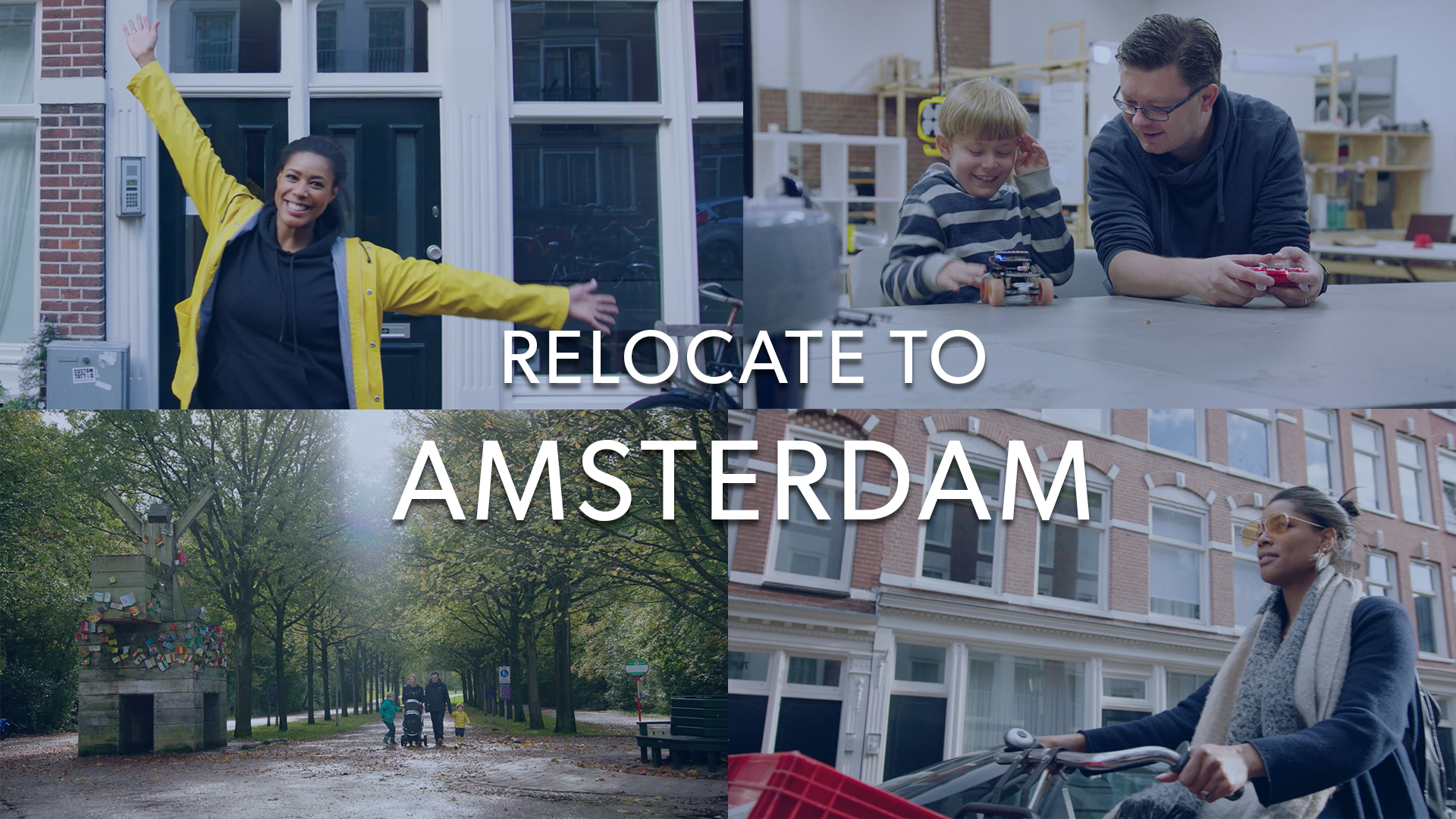 Relocation to Amsterdam