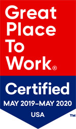 Great place to work certified USA