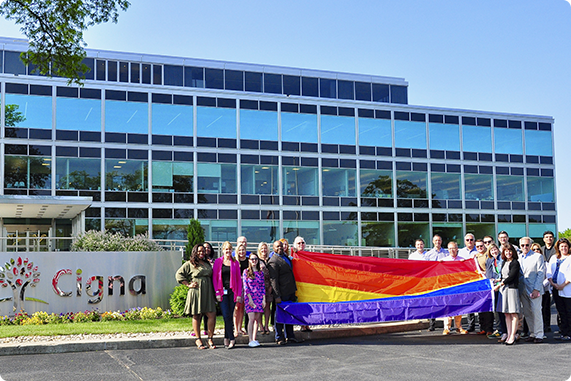 Pride celebration event in St. Louis organized by our LGBTQ+ employee resource group.