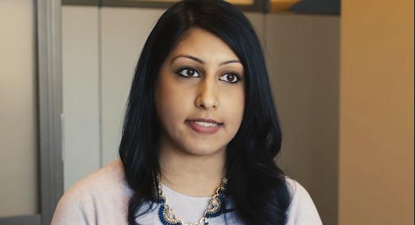 Meet Sarah, a graduate-level Financial Development Program associate