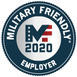 Military friendly employer 2020 Award