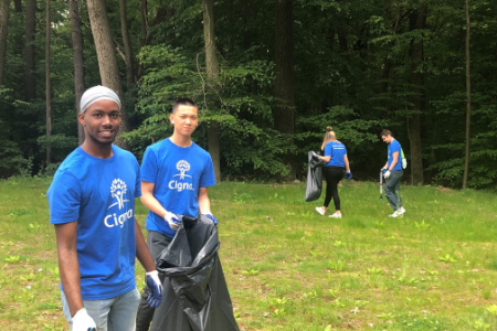 Cigna community service event