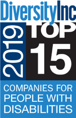 Diversity Inc. 2019 Top 15 Companies for people with disabilities