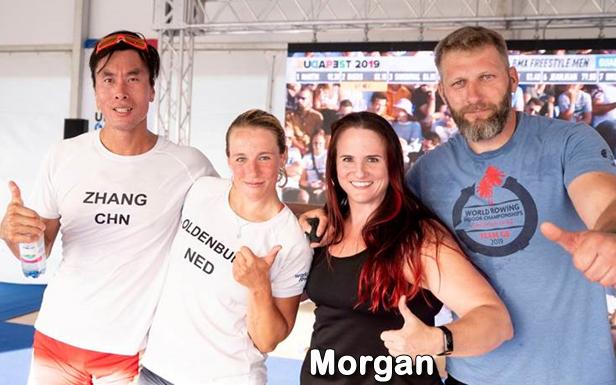 World Champion Indoor Rower, Morgan
