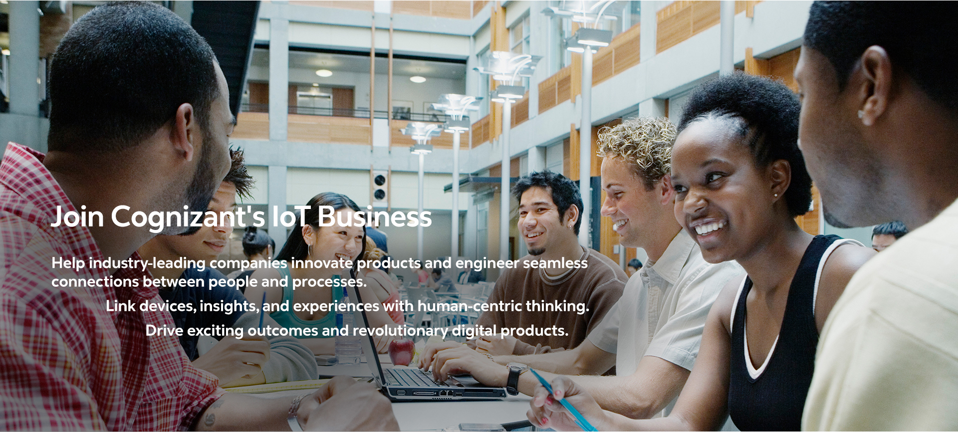 The Internet of things team collaborates to find best solutions