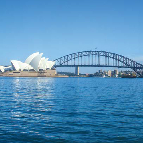 view of sydney skyline