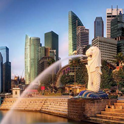 Singapore sky view