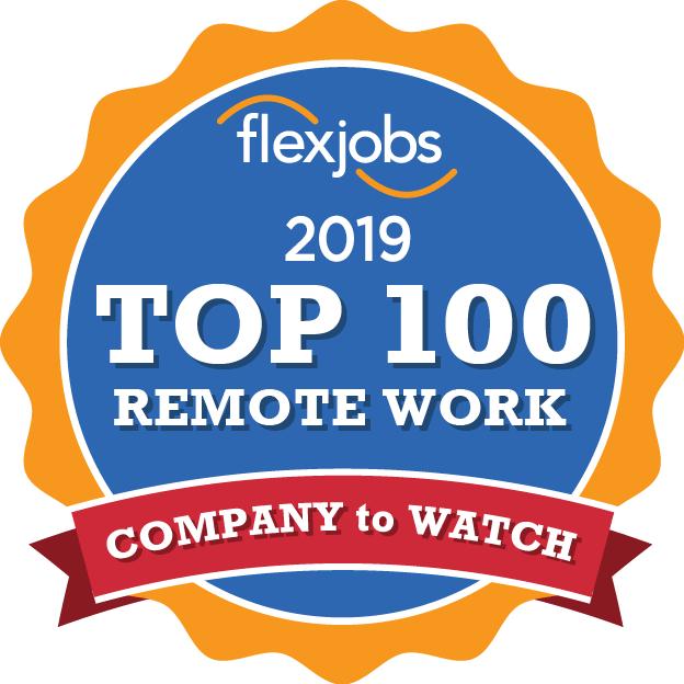 2019年 在宅勤務ができる企業トップ 100(2019 Top 100 Remote Work)
