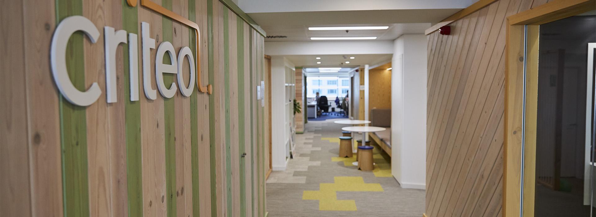 Criteo BCN hallway