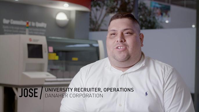 Jose University Recruiter DanaherCorp