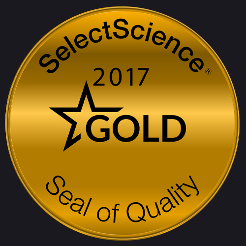 SelectScience 2017 Gold Medal