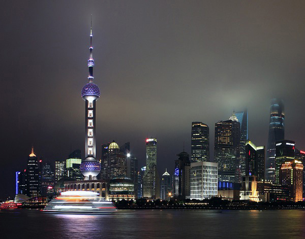 Photograph of Shanghai