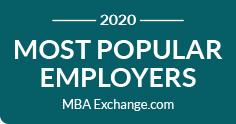 MBA-Exchange Most Popular Employers 2020