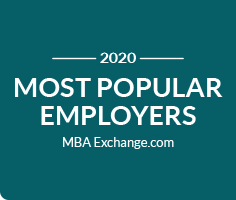 MBA-Exchange Most Popular Employers