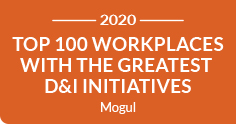 Mogul Top 100 Workplaces with Greatest D&I Initiatives 2020