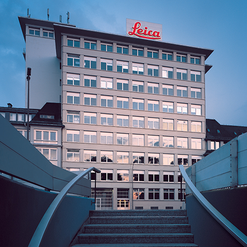 Photograph of Leica Microsystems Europe office