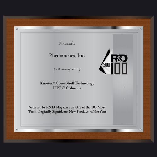 Kinetex Core-Shell HPLC Plaque