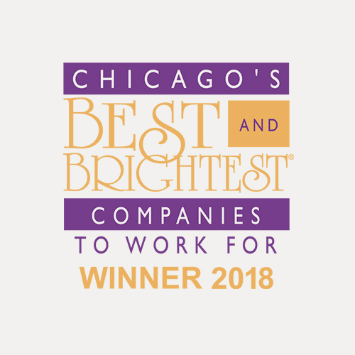 Chicago's best and brightest companies to work for winner 2018