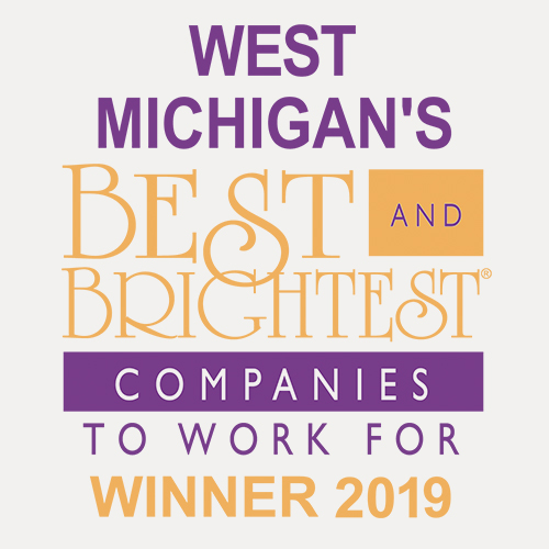 West Michigan's Best and brightest companies to work for in the nation Winner 2019