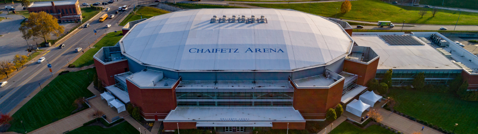 Chaifetz Arena, in St. Louis, MO