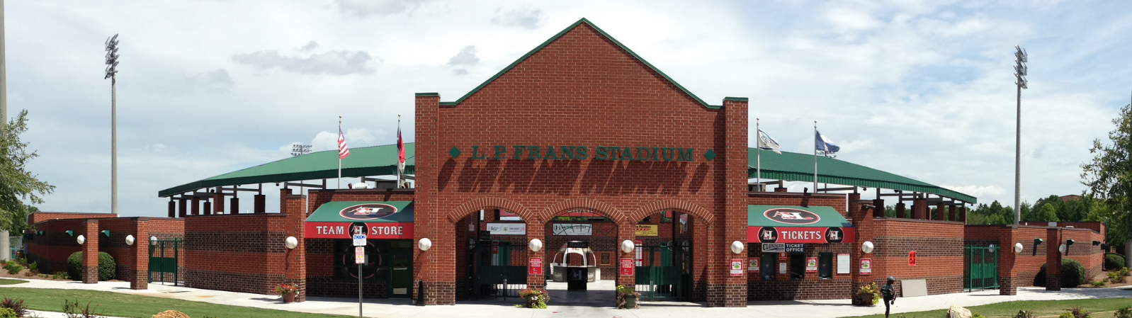 L.P. Frans Stadium, in Hickory NC