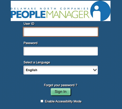 PeopleManager Login