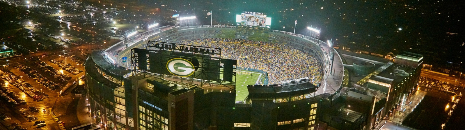 Lambeau Field in Green Bay