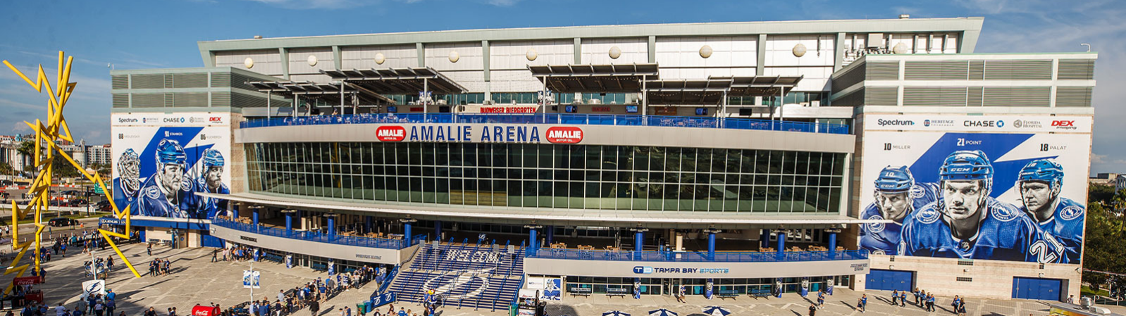 Amalie Arena, in Tampa FL