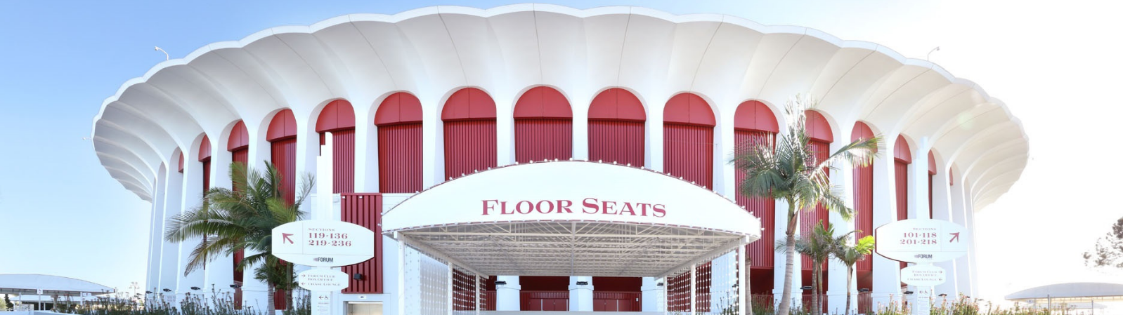 The Forum, Inglewood Sportservice
