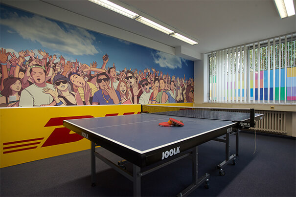 Bonn Tischtennisplatte