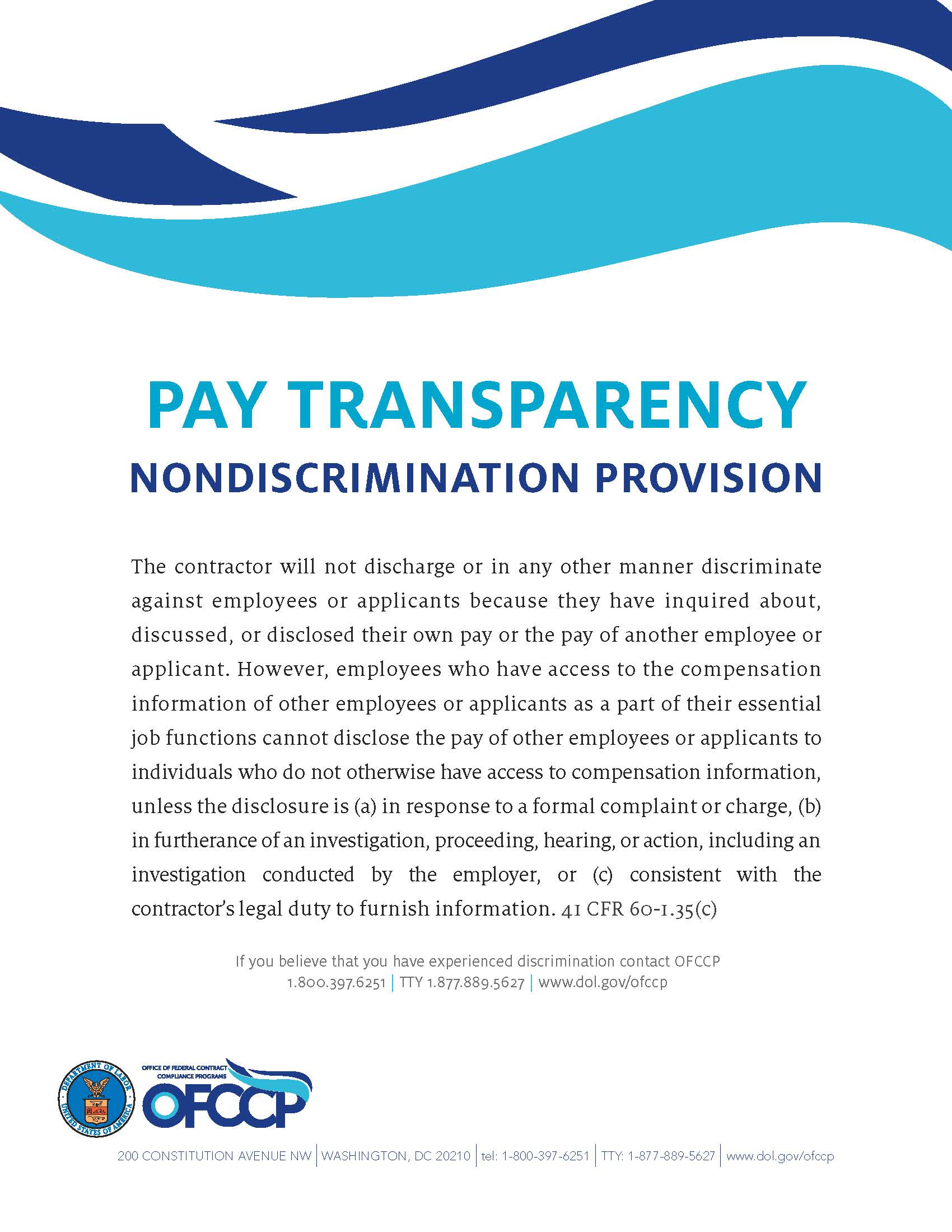 Nondiscrimination Provision