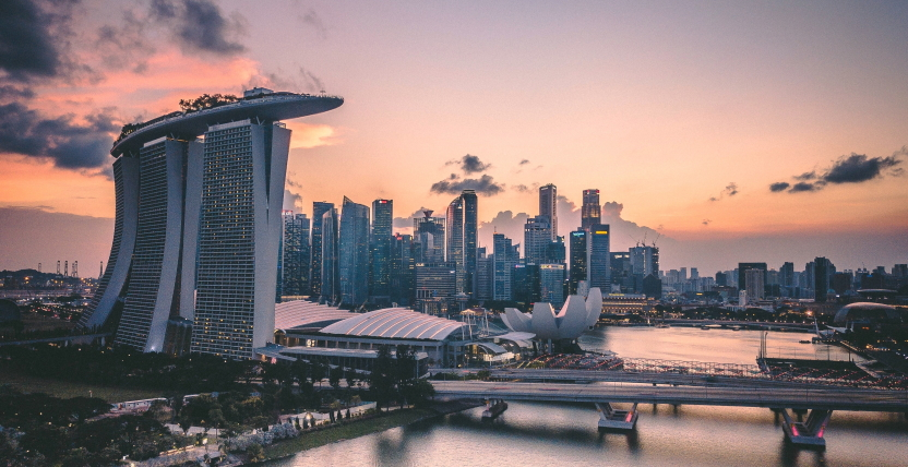 Singapore City Photograph