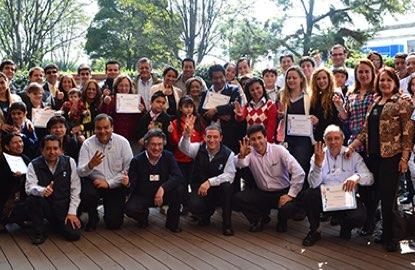 Foto equipo Colombia