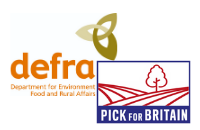 Defra Pick for Britain logo