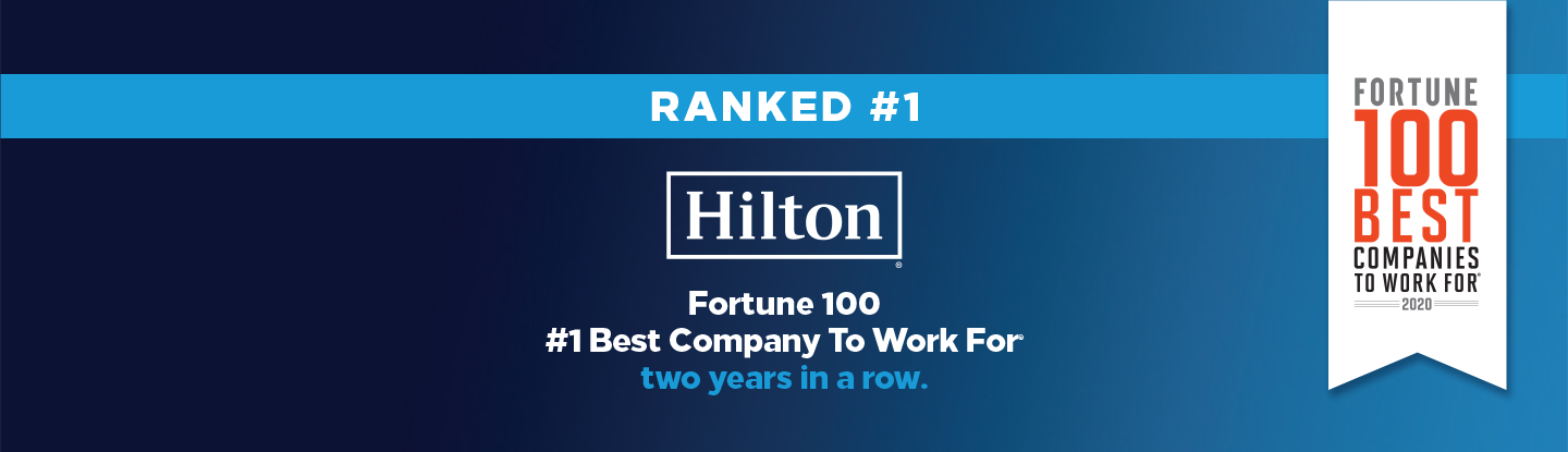 hilton-1-best-company-to-work-for-us