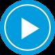 pulsante riproduzione video