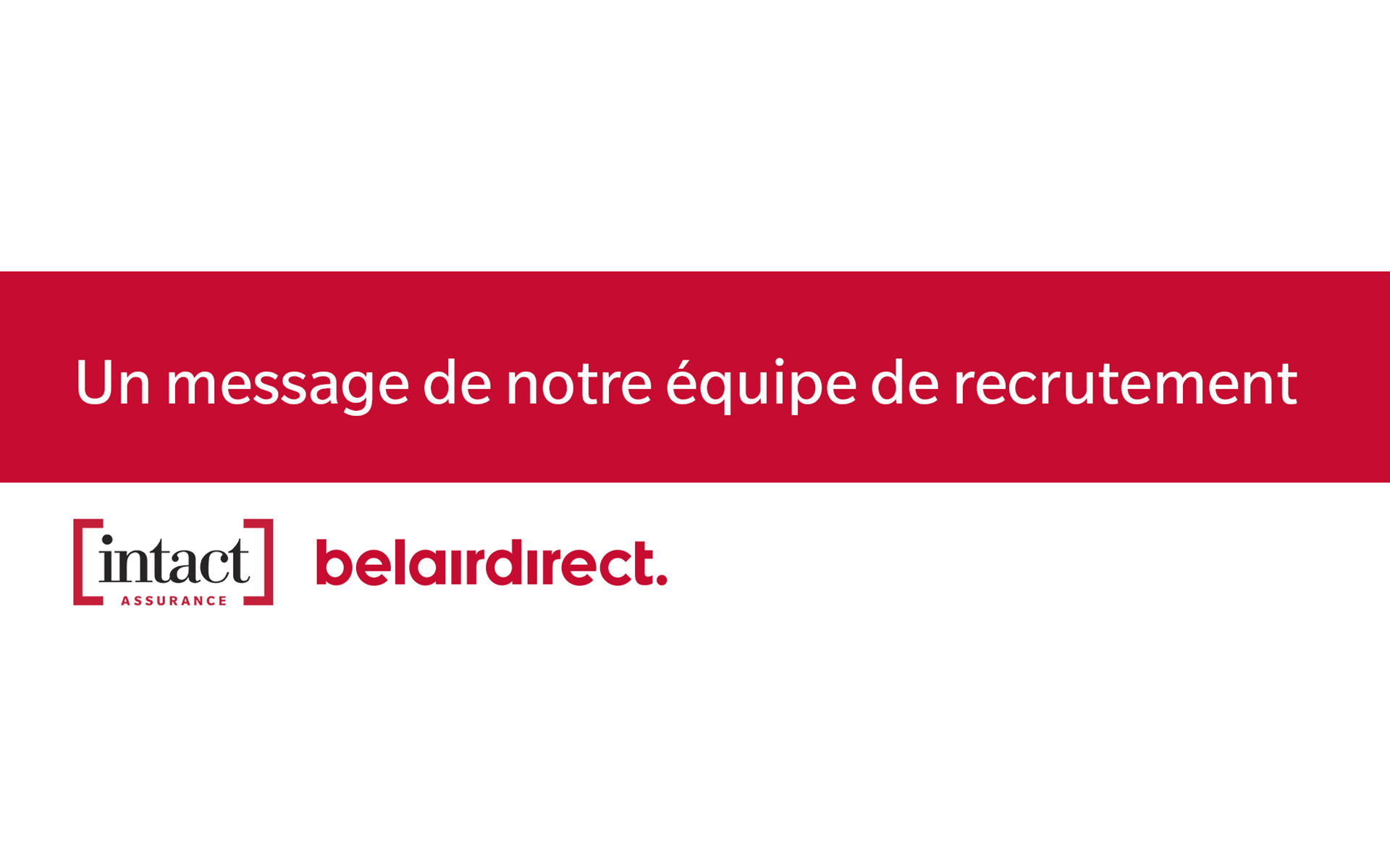 A message from our recruitment team: Fraudulent job postings