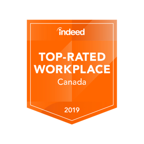 Indeed Top-Rated Workplaces 2019 - Intact