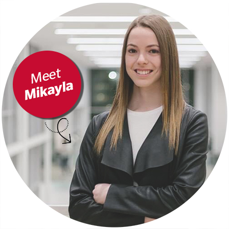 Meet Mikayla - Future Talent - Intact Campus Influencer