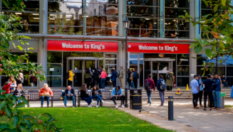 image of a busy campus