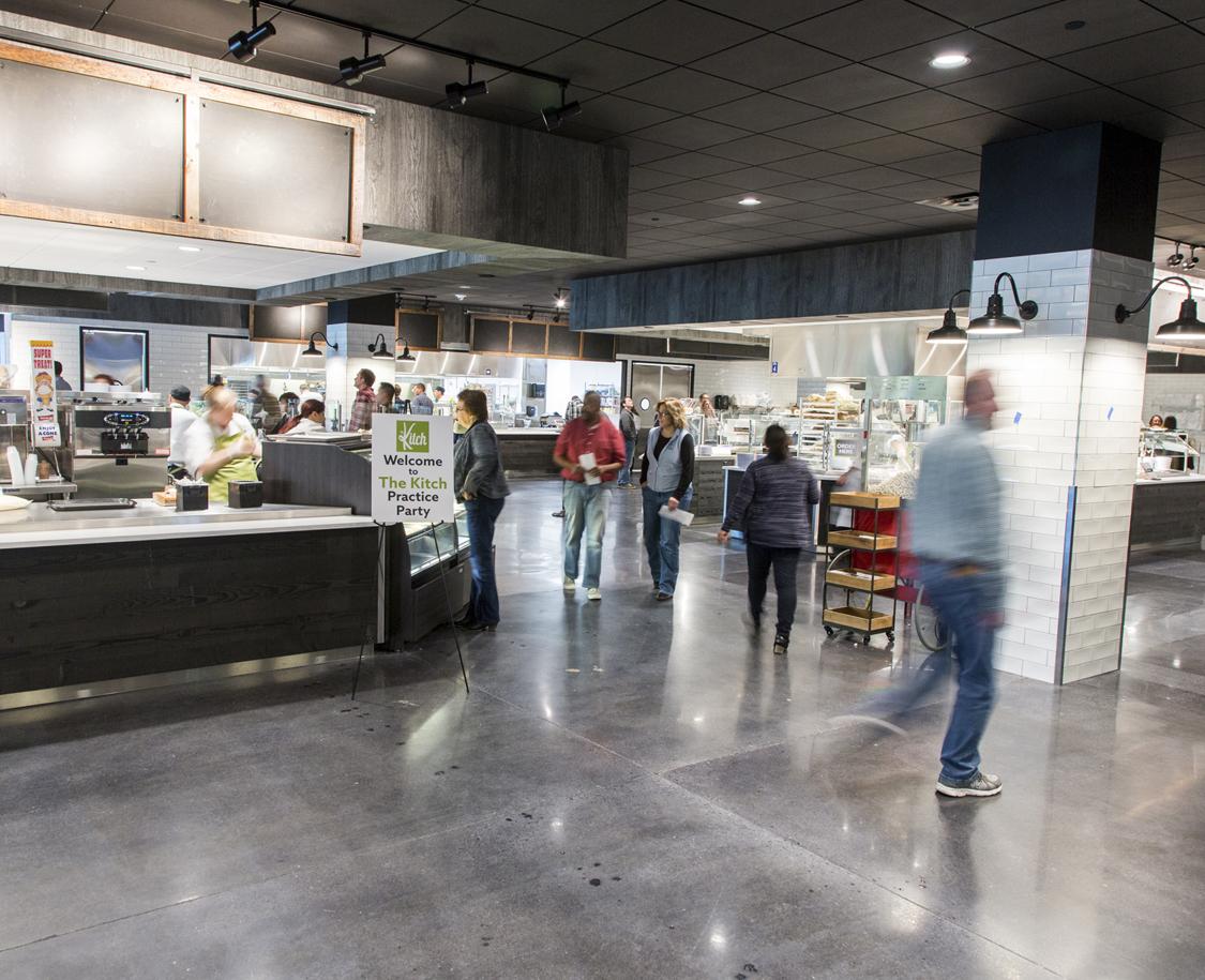Corporate Cafeteria
