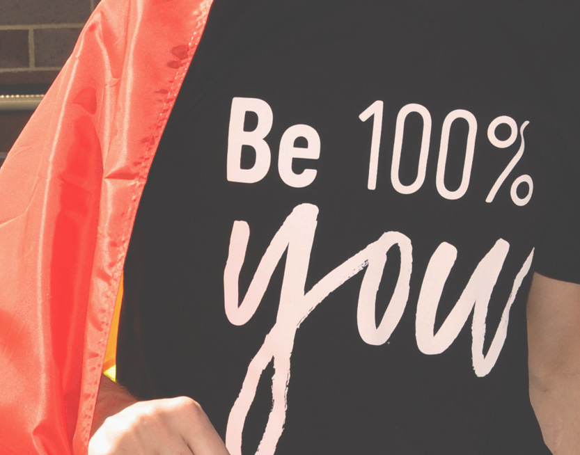 Be 100% you
